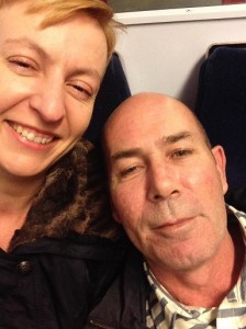 Selfie on Train Home