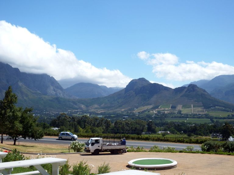 Haute Cabriere - Franschhoek - great view!