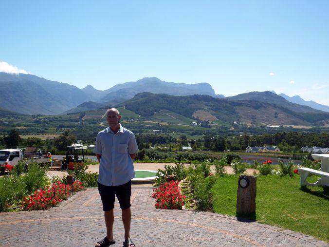 Haute Cabriere - Franschhoek- Brian & views