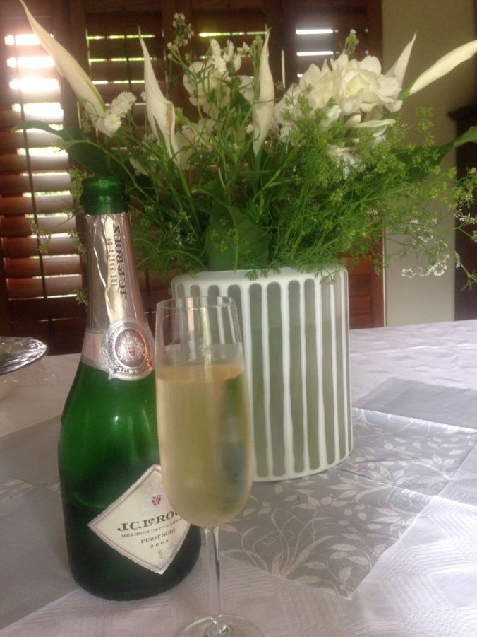 Christmas Lunch 2014 - Bubbly & Flowers