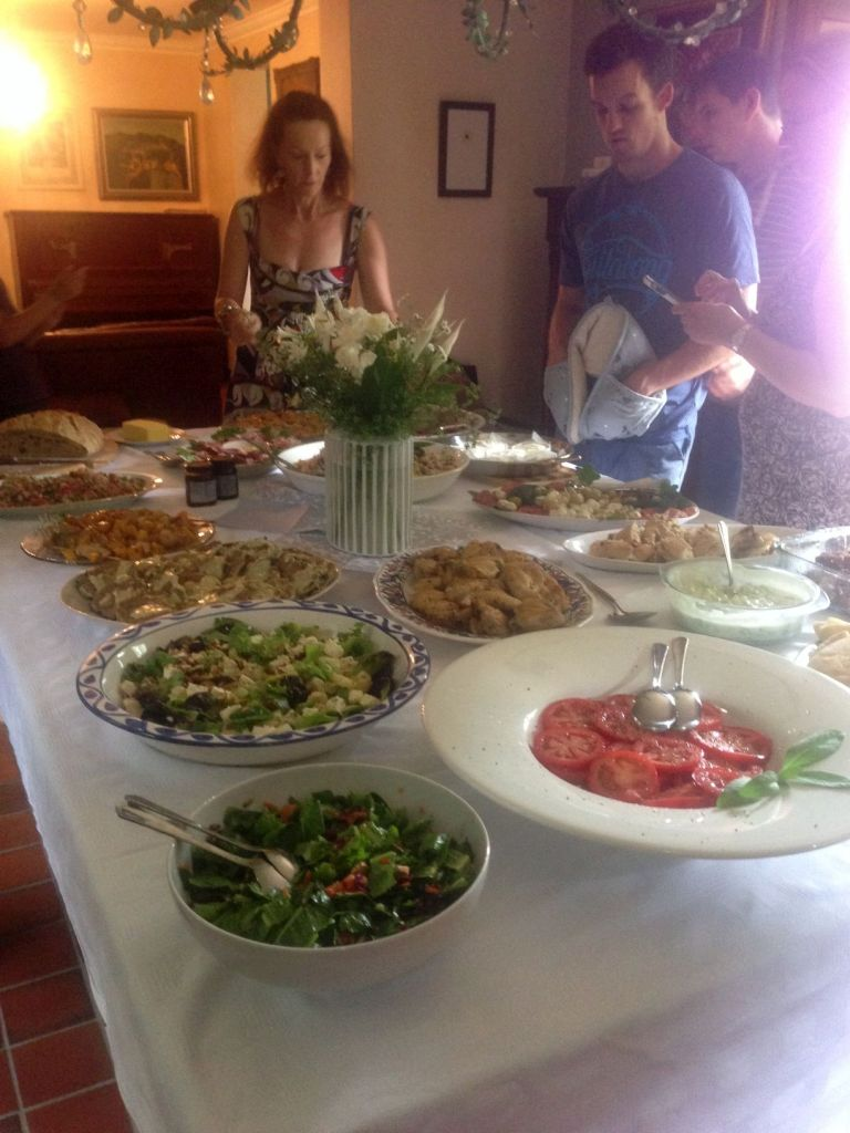 Christmas Lunch 2014 - Food!