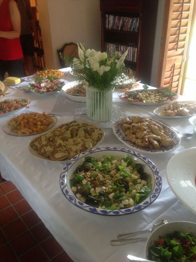 Christmas Lunch 2014 - Food!
