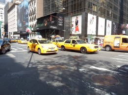 NY - Obligatory yellow cab shot