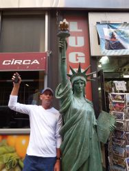 NY - She's smaller than you think!