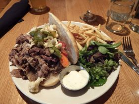 Montpelier - Hot Beef Sandwich