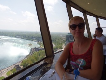 Niagara Falls - View from Skylon