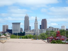 Cleveland - View from Hostel