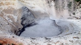 Yellowstone National Park - Mud Volcano