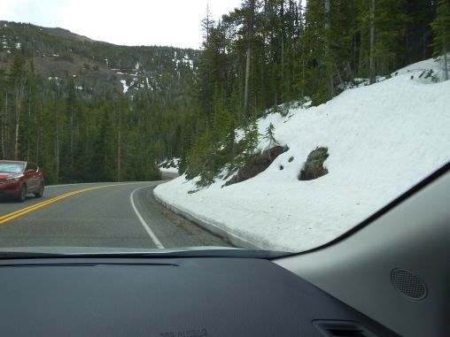 Yellowstone National Park - Snow/Ice