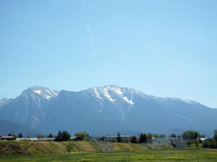En Route to Flathead Lake