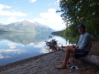Glacier National Park - Lunch