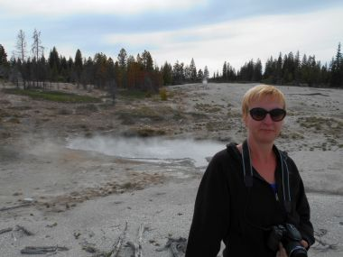 Yellowstone National Park - West Thumb Geyser Basin