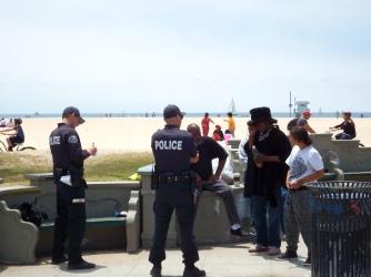 LA - Venice - Police