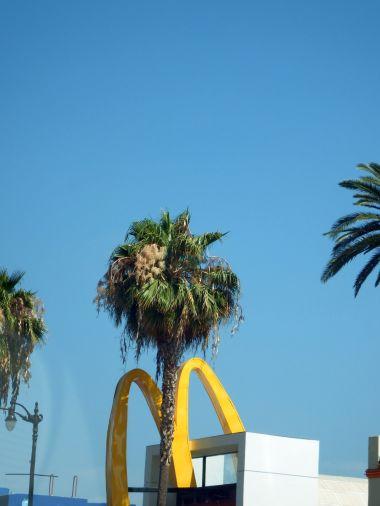 Driving around LA