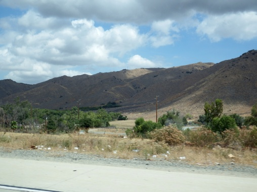 On the way to Tulare