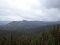On the way to Yosemite