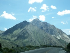 Driving to Convict Lake