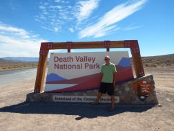 On the way to Death Valley