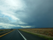 On the way to Flagstaff