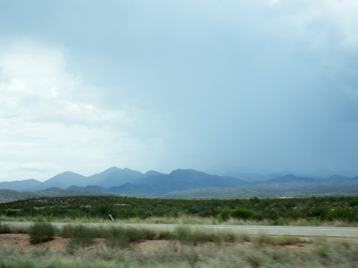 On the way to Las Cruces