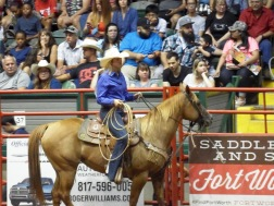 Fort Worth - Rodeo - Cowgirl
