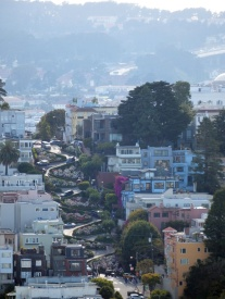 San Francisco - Coit Tower - Lombard Street