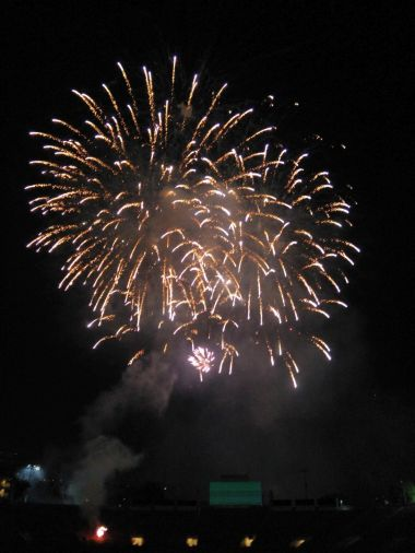 Rose Bowl - Fireworks