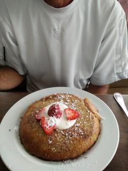 3 Square Cafe - Apple Souffle Pancake
