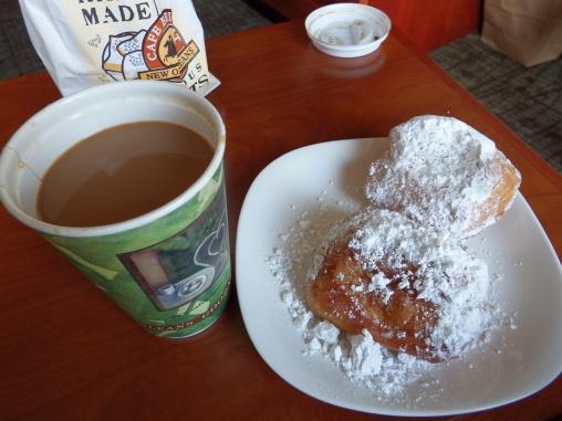 New Orleans - Beignets & Cafe au Lait