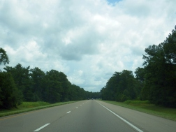 On the way to Pensacola
