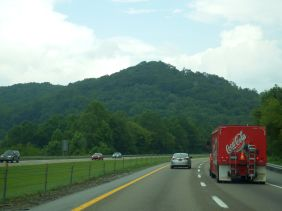 On the way to Knoxville