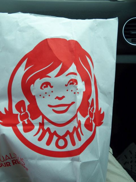 On the way to Roanoke - Wendy's