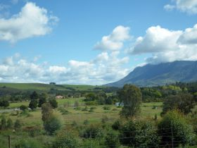 Entering Swellendam