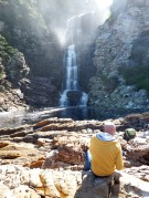 Storms River Mouth - Waterfall