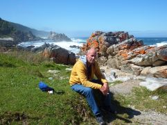 Storms River Mouth - Waterfall Hike - Tired Brian!
