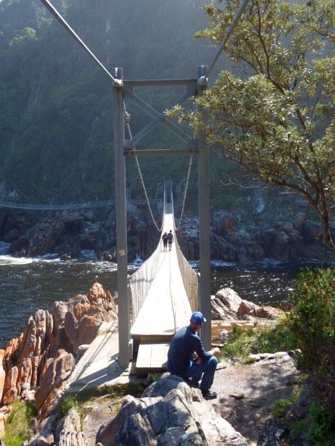 Storms River Mouth - Suspension Bridge