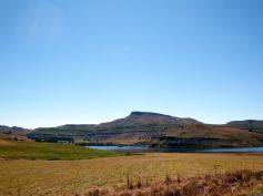 On the way to Drakensberg