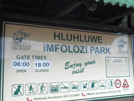 Hluhluwe-Imfolozi Park