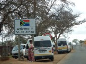 South Africa - Jeppes Reef Border Post