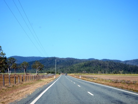 On the way to Airlie Beach