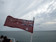 On the Barge to Fraser Island