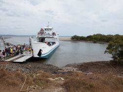 Arriving on Fraser Island