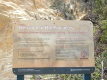 Fraser Island - The Pinnacles Coloured Sands