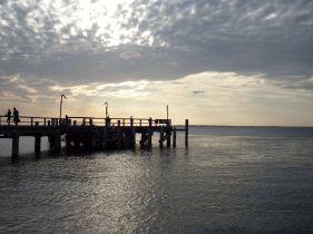 Leaving Fraser Island