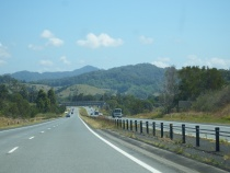 On the way to Byron Bay