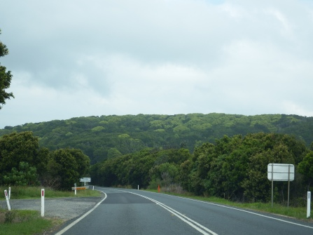 On the way to Yamba