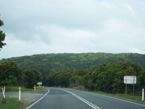 On the way to Yamba