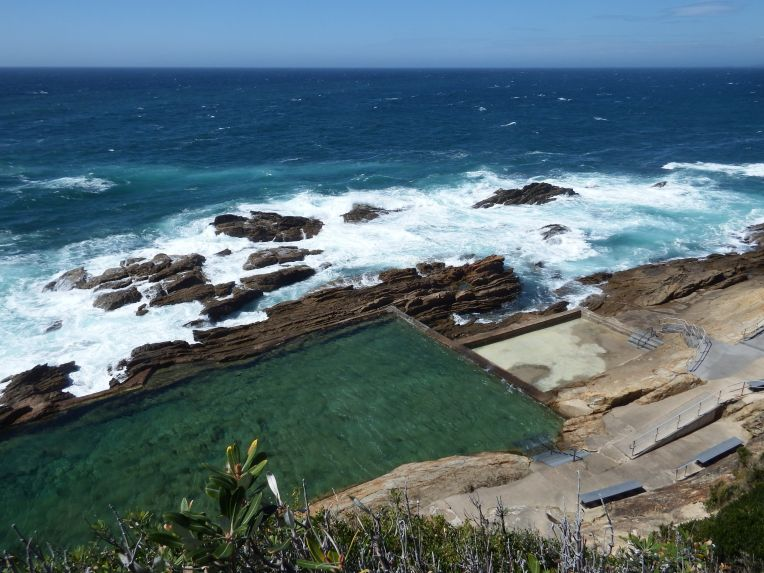 The Blue Pool - Bermagui