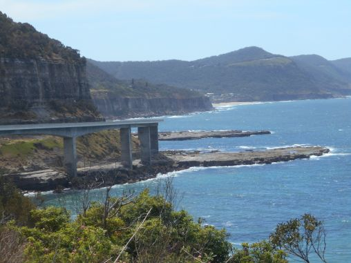 Sea Cliff Bridge, NSW