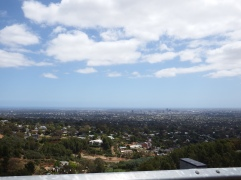 View from Mount Lofty, SA